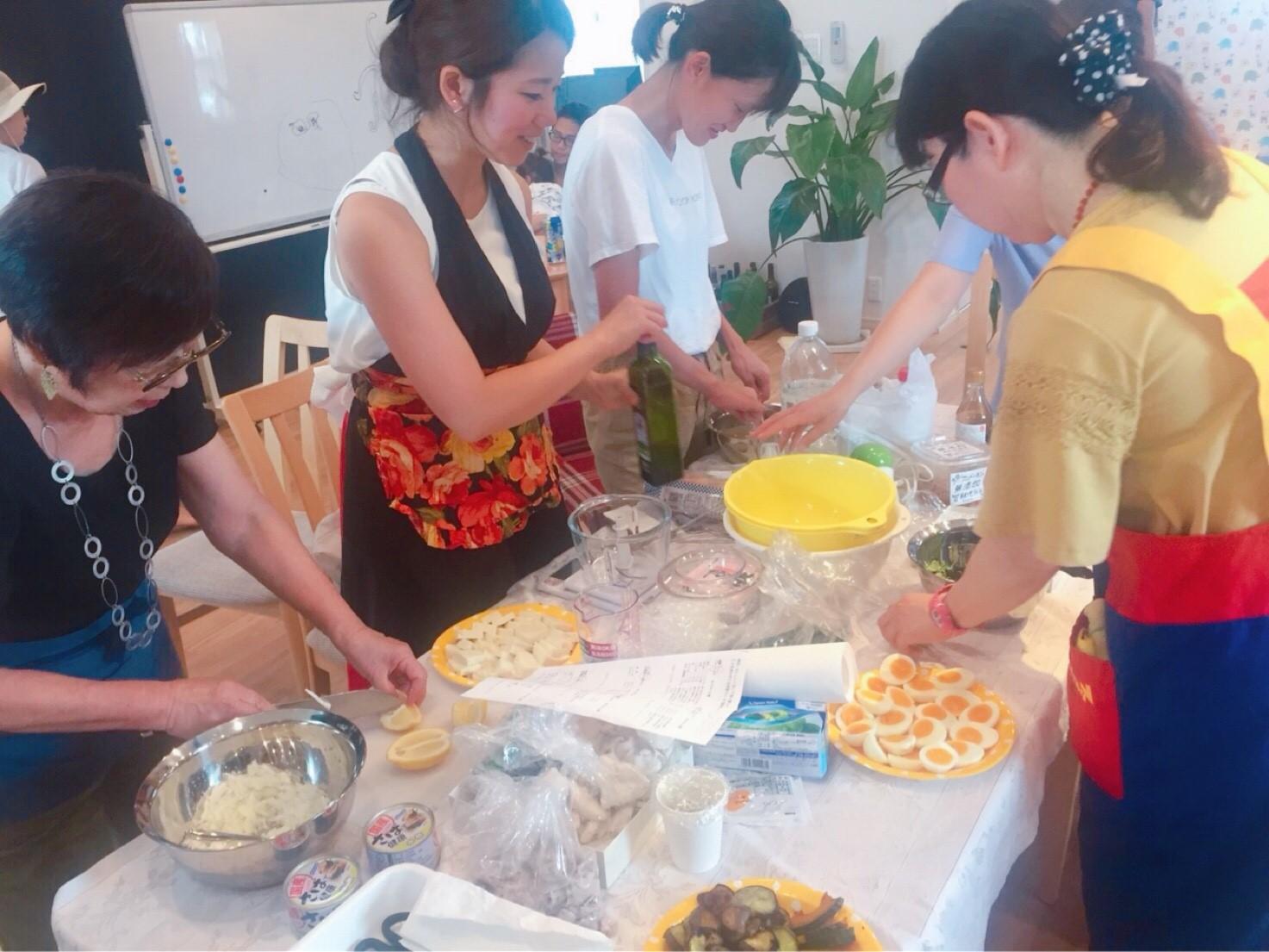 すべで満席*出張料理教室(豊川)